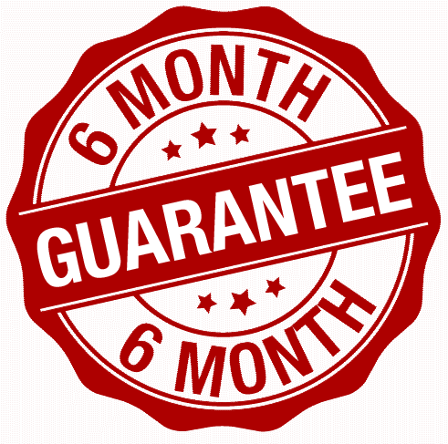 cleaning guarantee 6 months